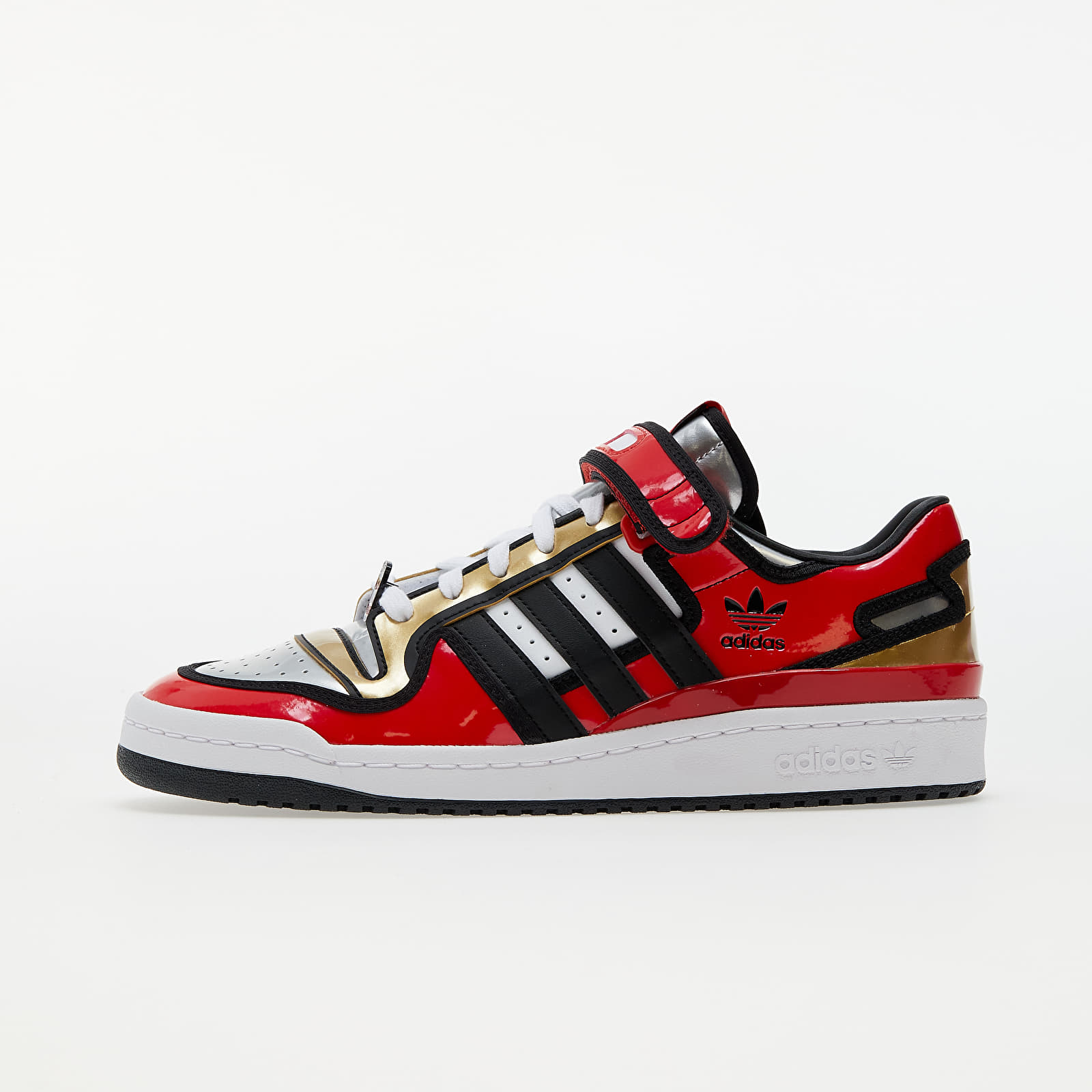 adidas x The Simpsons Forum 84 Low Red/ Core Black/ Ftw White EUR 42