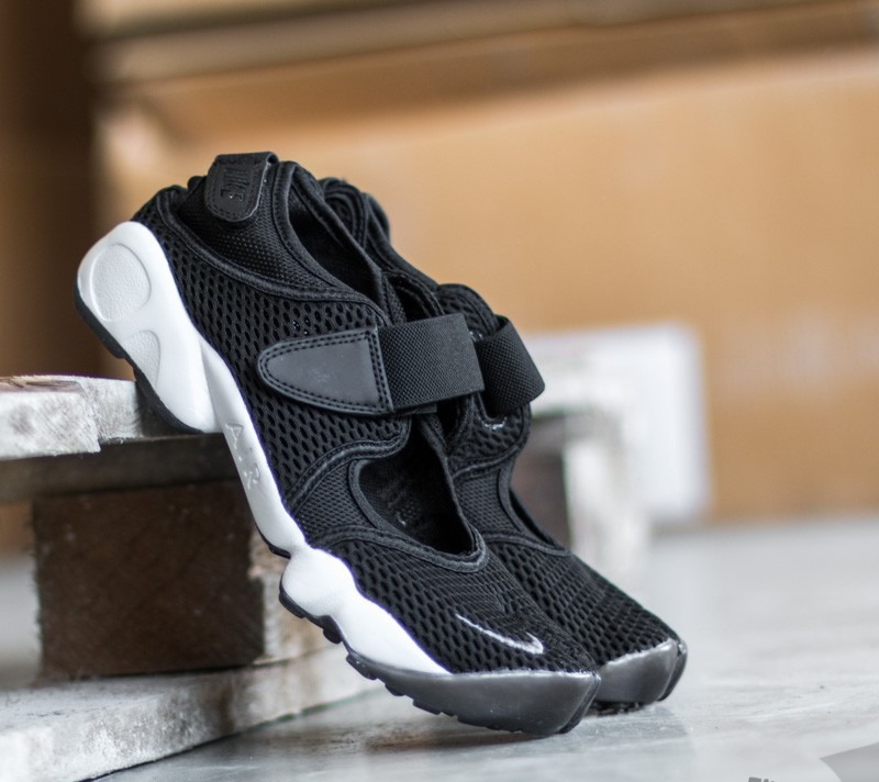 Nike Wmns Air Rift Breathe Black Cool Grey White | Footshop