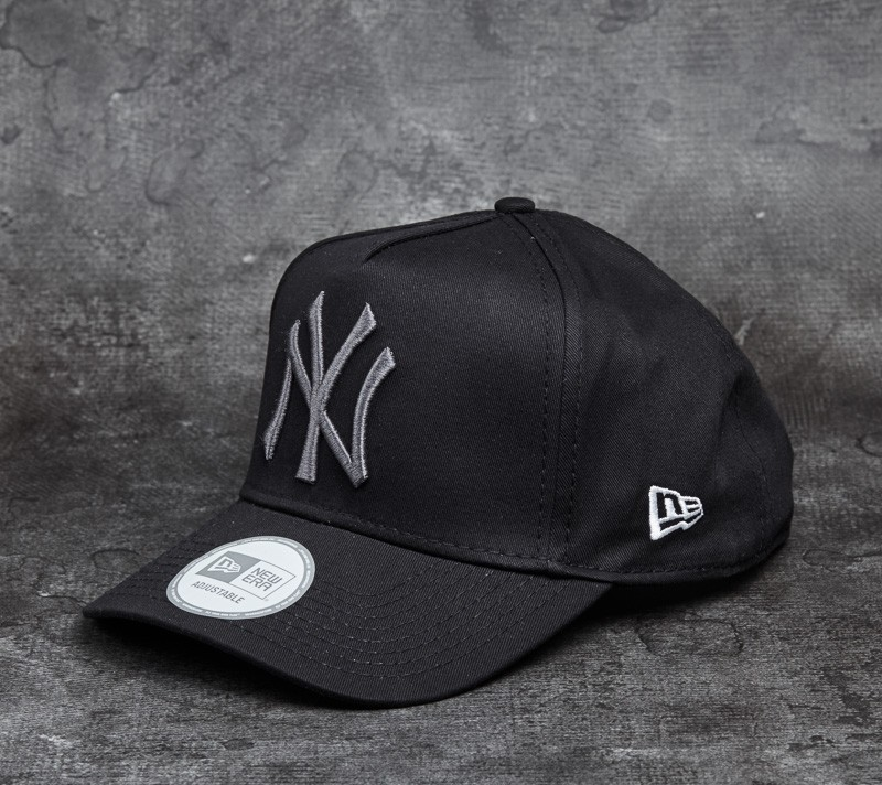 New Era 9Forty Adjustable FL A-Frame New York Yankees Cap Black ... 6e67ee6d58d