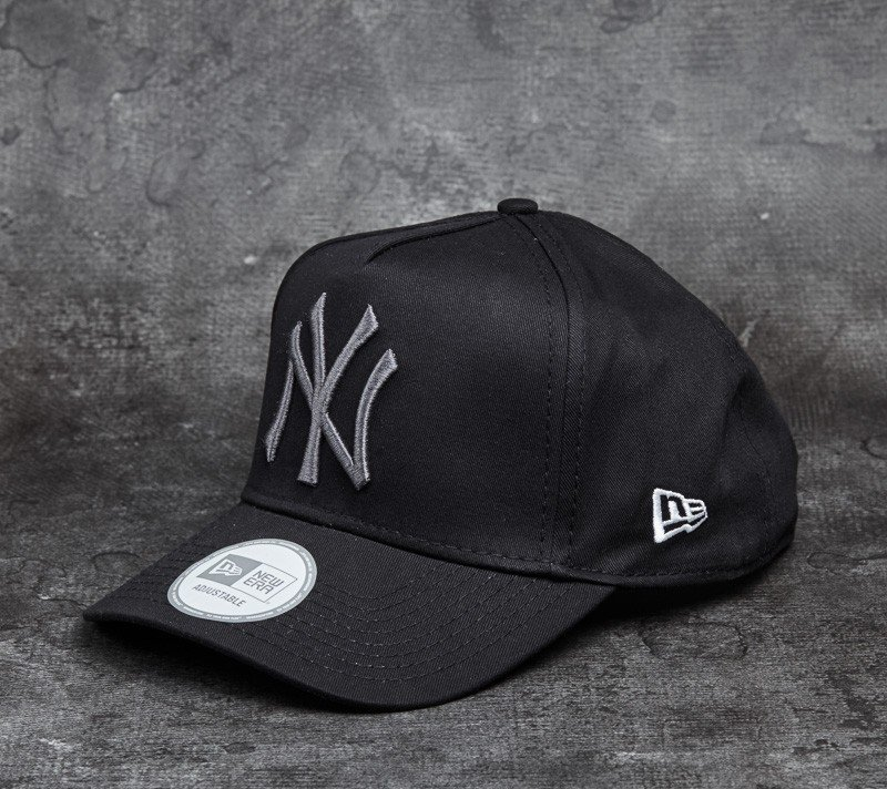 4c9061d2b98 New Era 9Forty Adjustable FL A-Frame New York Yankees Cap. Black  Gray