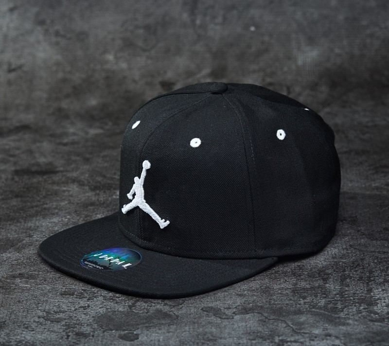 Jordan Jumpman Snapback Black  7bb56644939