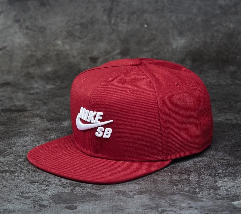 Nike SB Icon Pro Snapback Team Red  80ed3647f081