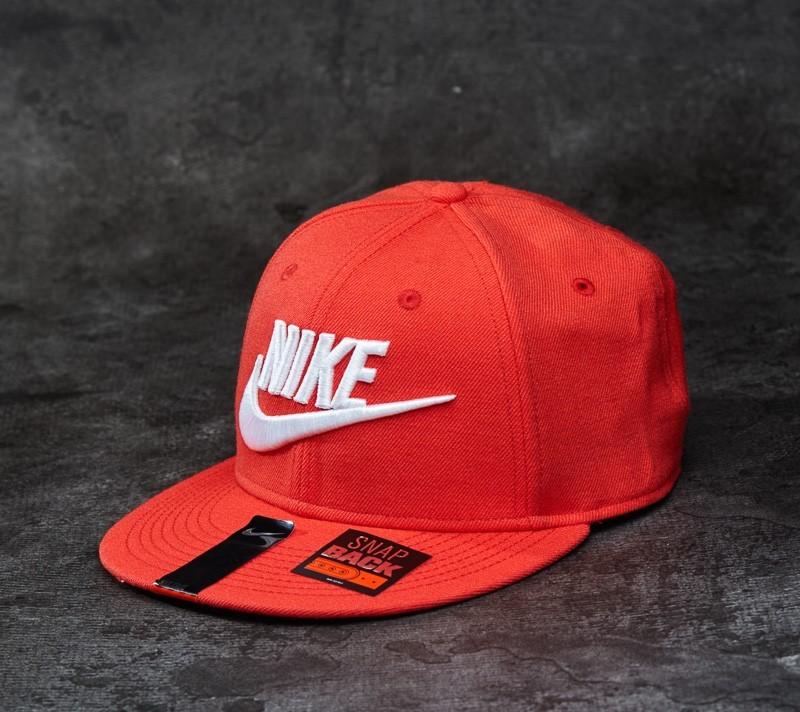 acc548b2bbe Nike Futura True-Red Snapback