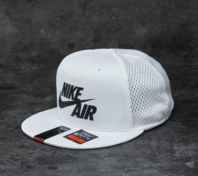 2488274e383 Nike Air Pivot True Snapback White