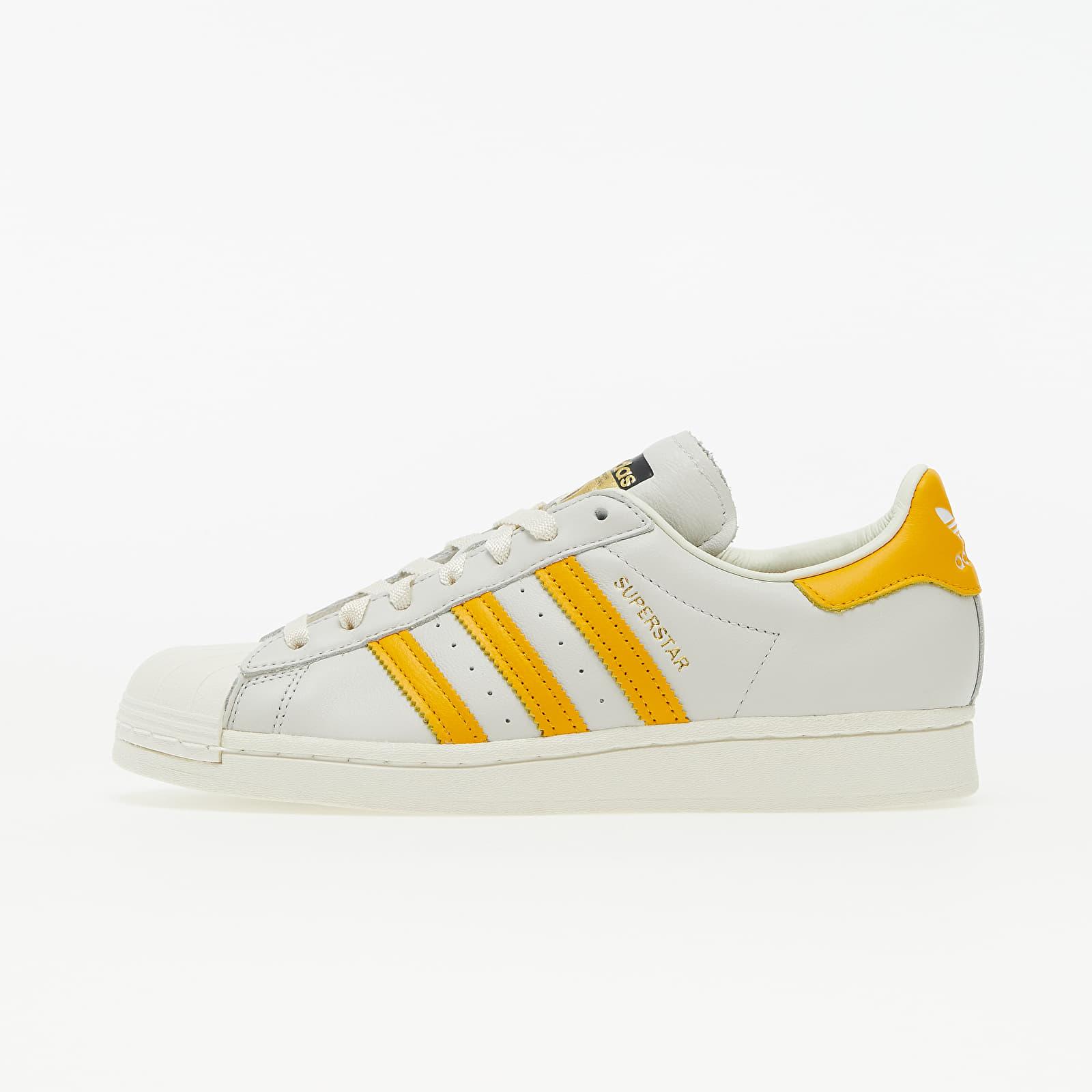 adidas Superstar Off White/ Collegiate Gold/ Off White EUR 42