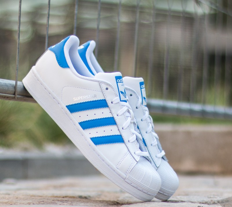 adidas superstar ray blue