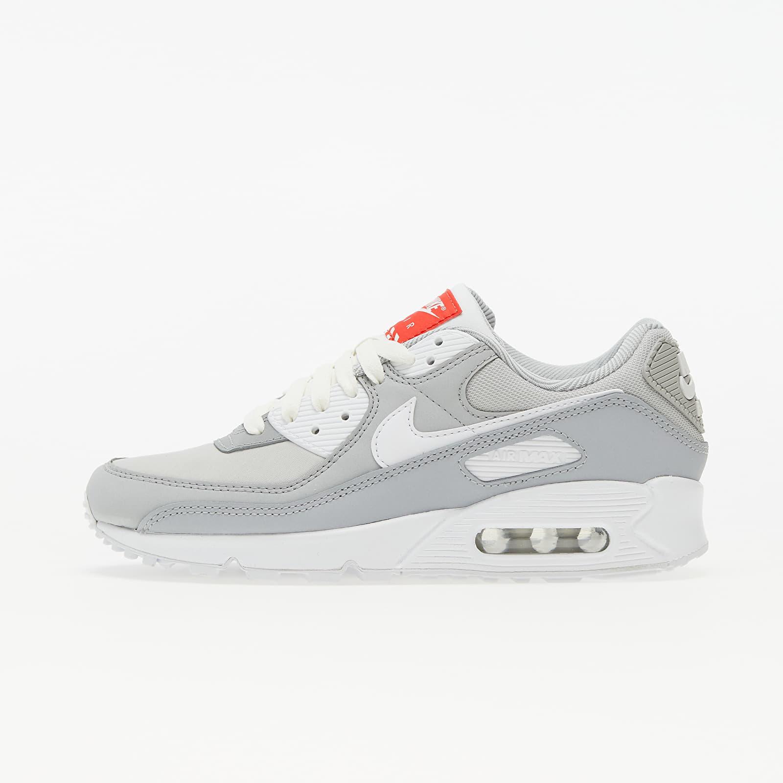 Nike W Air Max 90 Lt Smoke Grey/ White-Summit White EUR 38