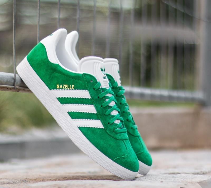 adidas gazelles green women