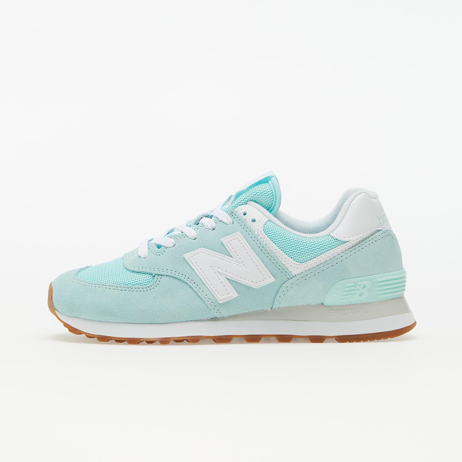 New Balance 574 Turquoise | Footshop