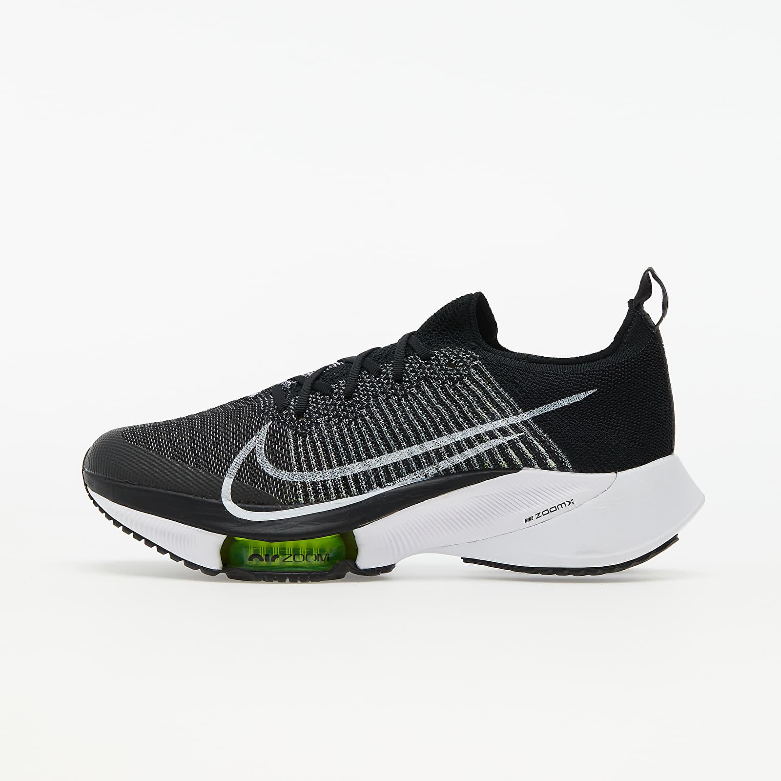 Nike Air Zoom Tempo NEXT% Black/ White-Volt EUR 42.5