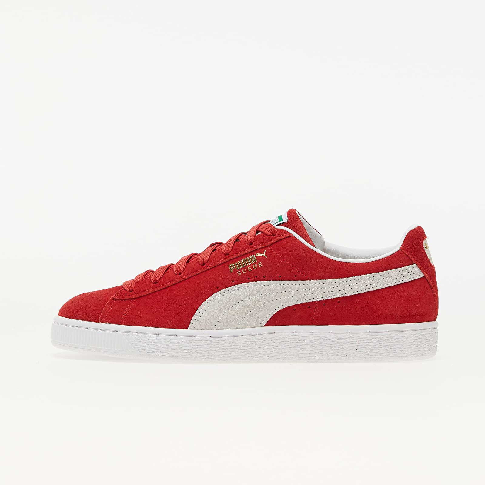 Puma Suede Classic XXI High Risk Red-Puma Whi EUR 42