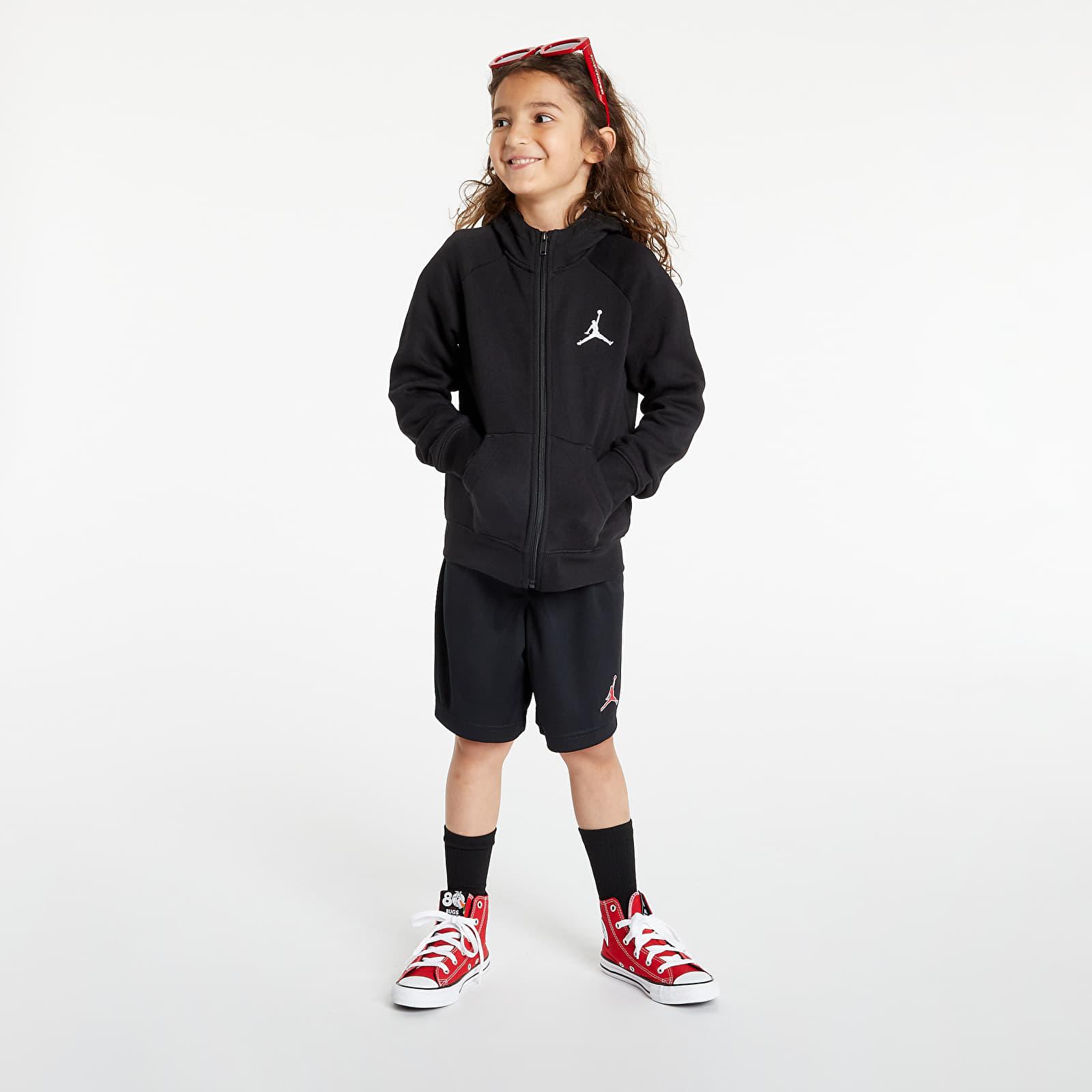 Air Jordan Jumpman Fleece FZ Hoodie Black 5-6Y