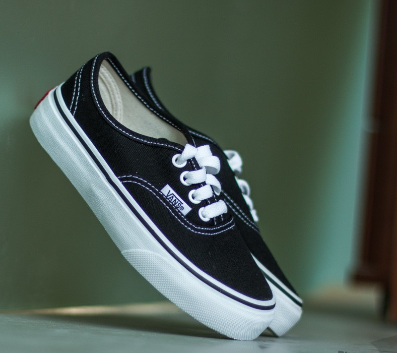 Kid´s shoes Vans K Authentic Black/ True White