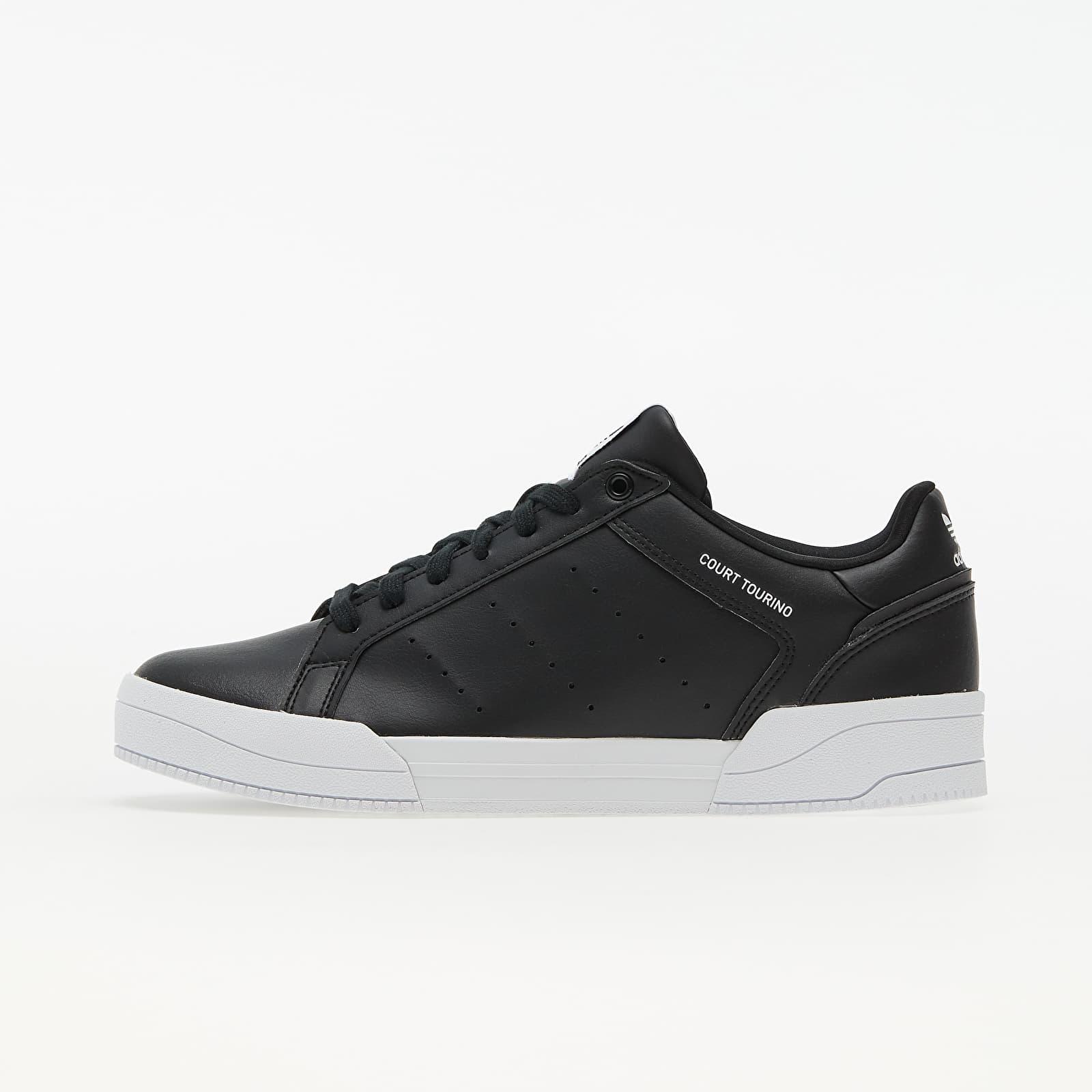 adidas Court Tourino Core Black/ Ftw White/ Ftw White