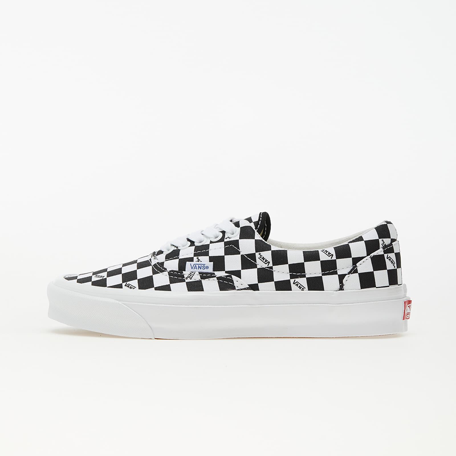 Vans OG Era LX (Canvas) Checkerboard Logo/ Black EUR 45