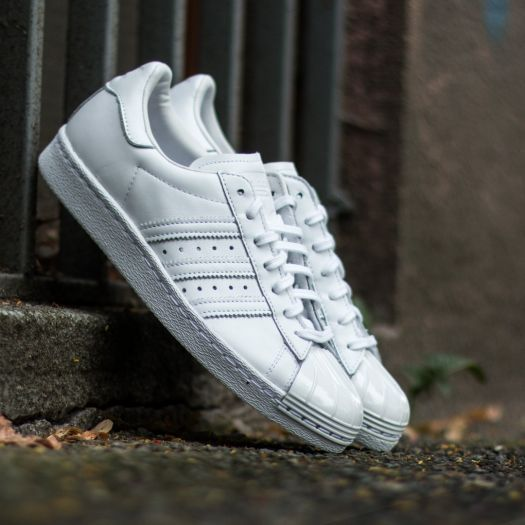 adidas Superstar 80s Metal Toe W Ftw White Ftw White Core Black | Footshop