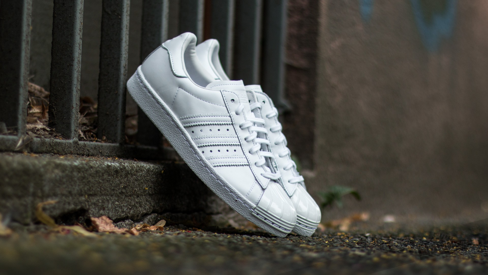 new concept 8d7ab 5fbc7 adidas Superstar 80s Metal Toe W Ftw White/ Ftw White/ Core ...