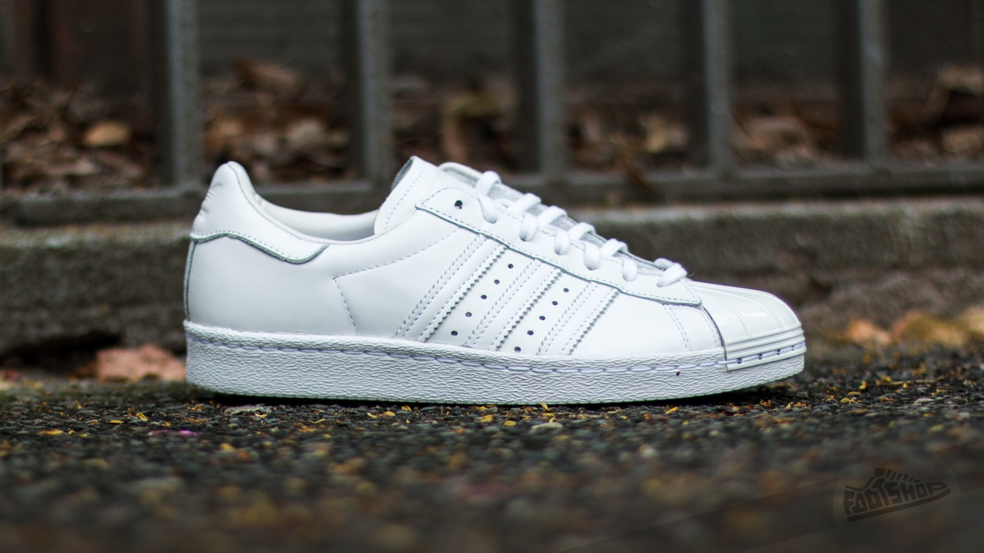 new concept deea7 7b36a adidas Superstar 80s Metal Toe W Ftw White/ Ftw White/ Core ...