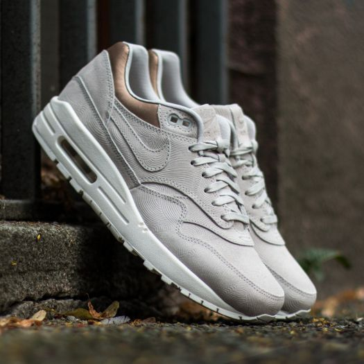 Nike Wmns Air Max 1 Premium Gamma Grey/ Gamma Grey-Metalic Golden Tn | Footshop