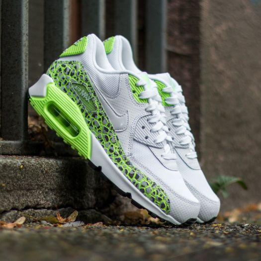Nike Wmns Air Max 90 Premium White White Ghost Green