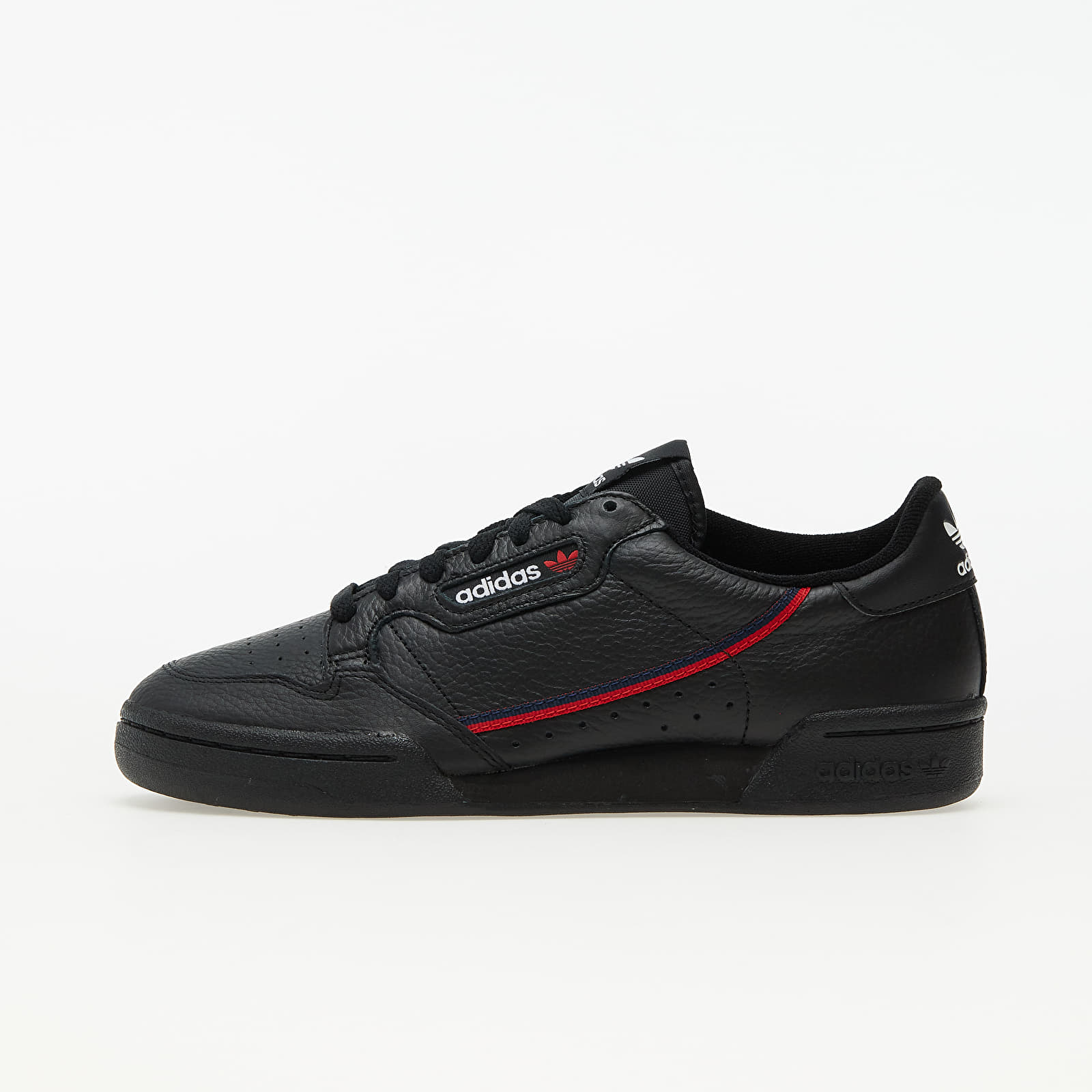 adidas Continental 80 Core Black/ Scarlet/ Collegiate Navy EUR 46