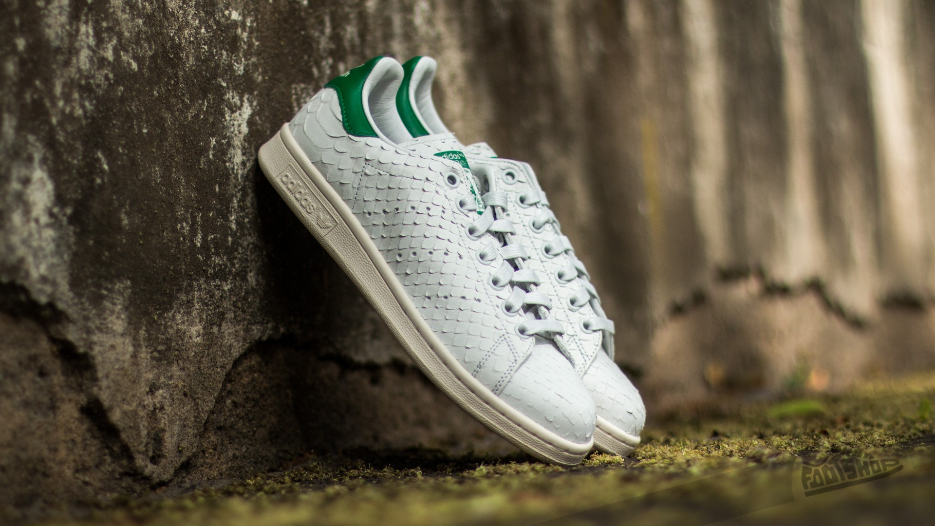 adidas Stan Smith W Crystal White  Crystal White  Green  c28d99d9f2bb