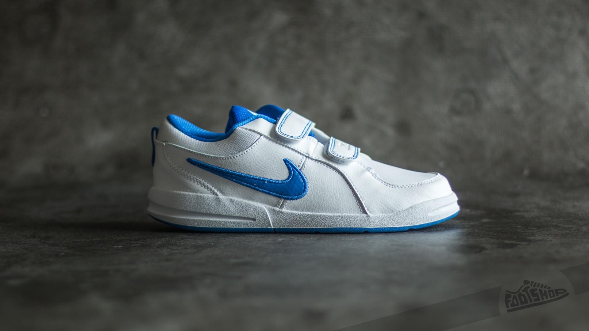 new product 5adf3 1b75e Nike Pico 4 (PSV) White  Hyper Cobalt