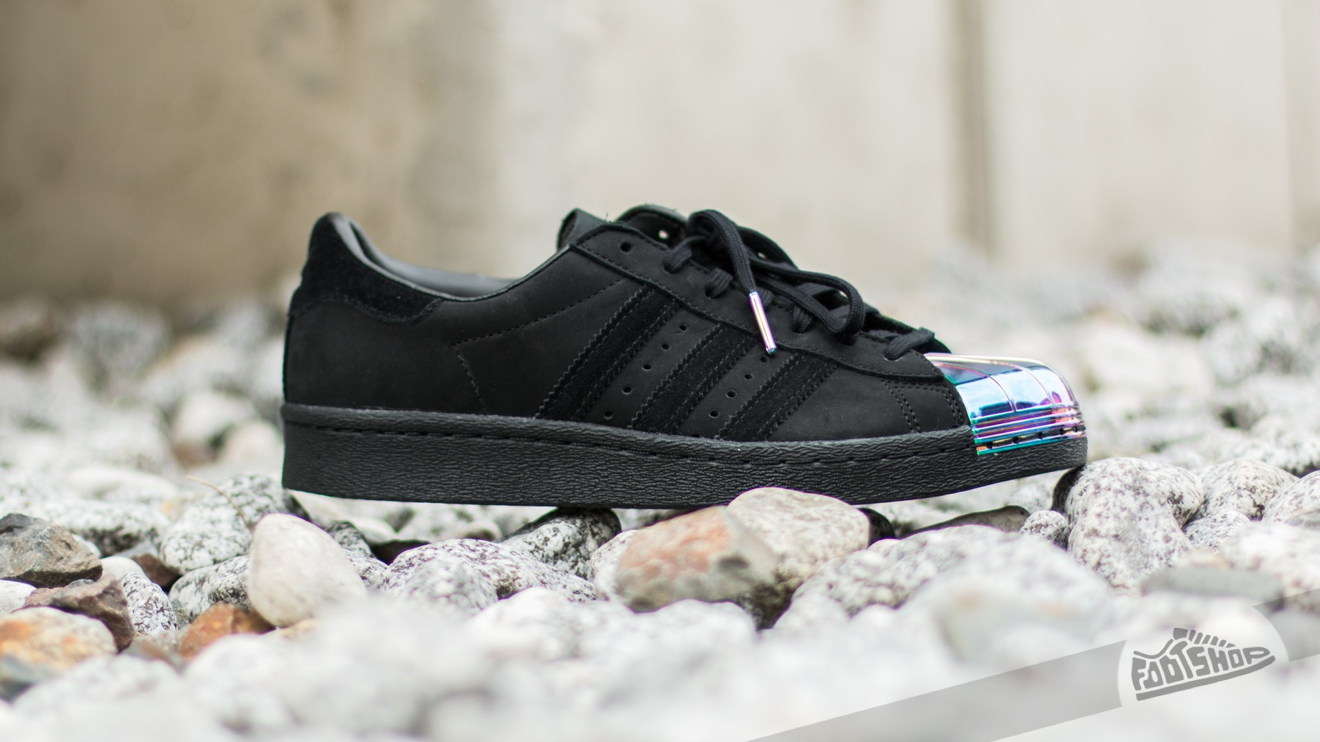 9411c82c48bf adidas Superstar 80 s Metal Toe W Core Black  Core Black  Ftw White ...