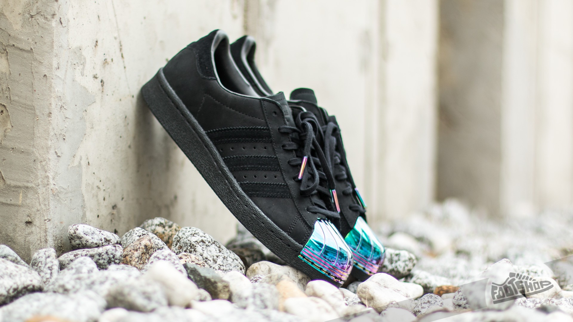adidas Superstar 80's Metal Toe W Core Black Core Black Ftw White | Footshop