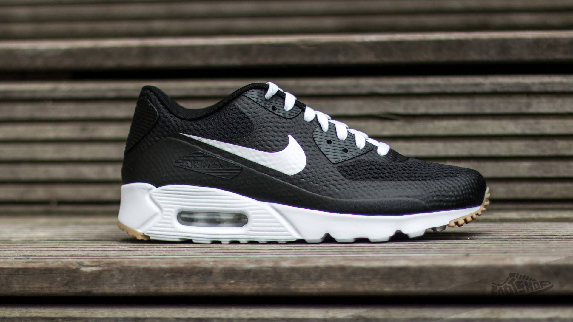 55c222ecd5 Nike Air Max 90 Ultra Essential Black/ White-Black | Footshop