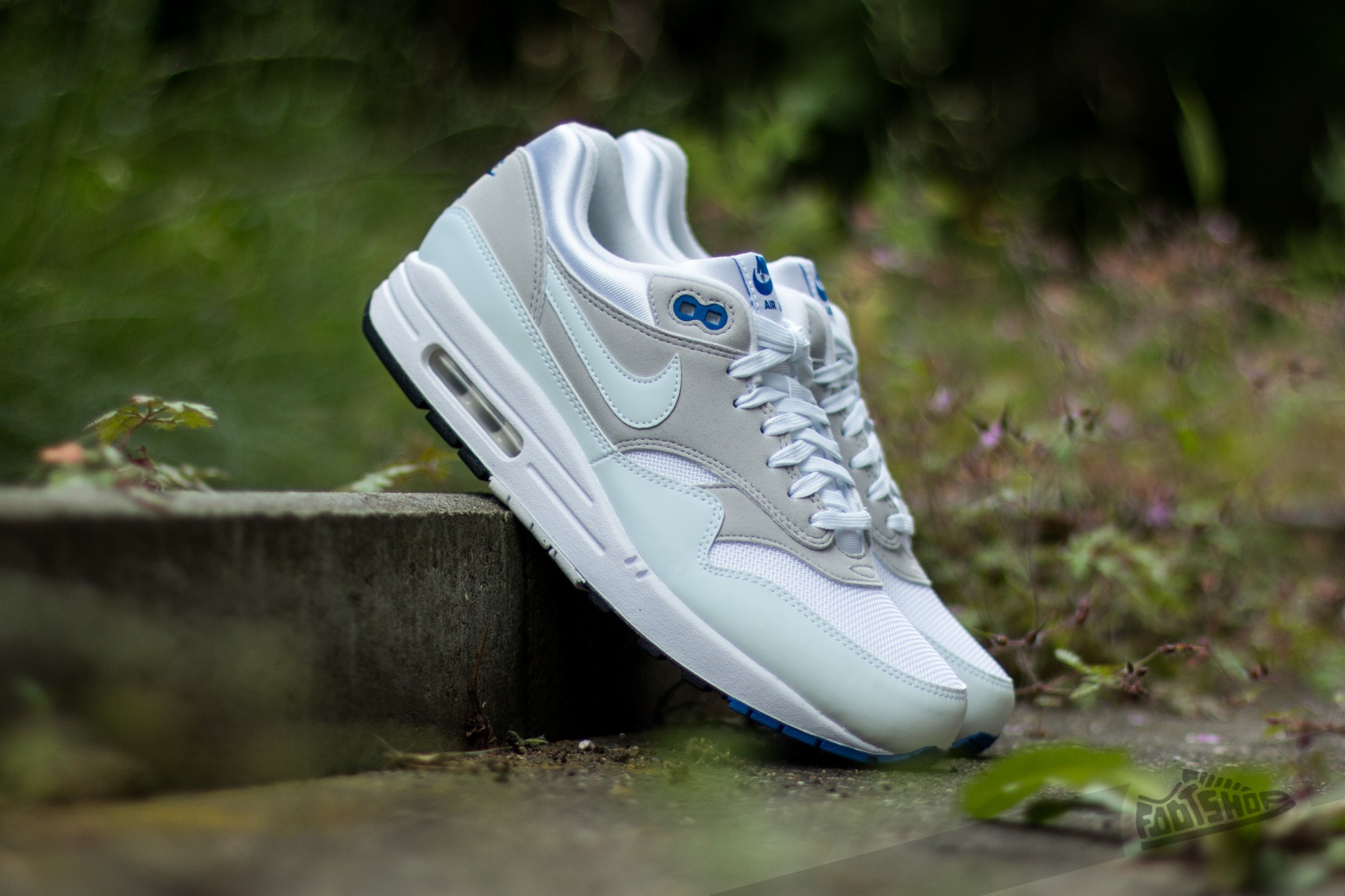 Nike Air Max 1 CX QS White White Varsity Royal | Footshop