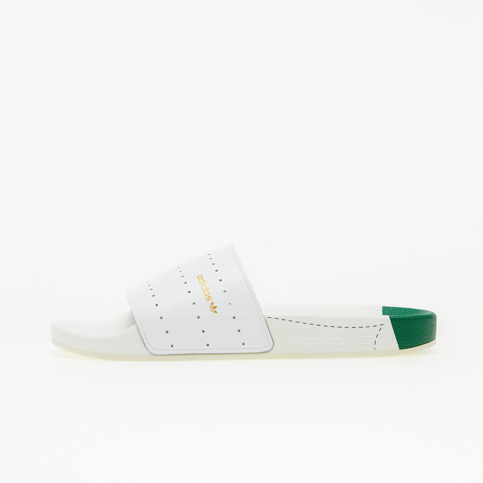 adidas Adilette Ftw White/ Green/ Ftw White EUR 42