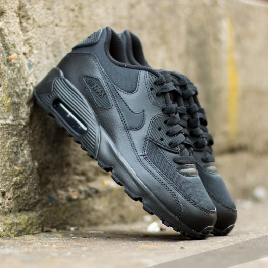 Nike Air Max 90 Mesh (GS) Black Black | Footshop