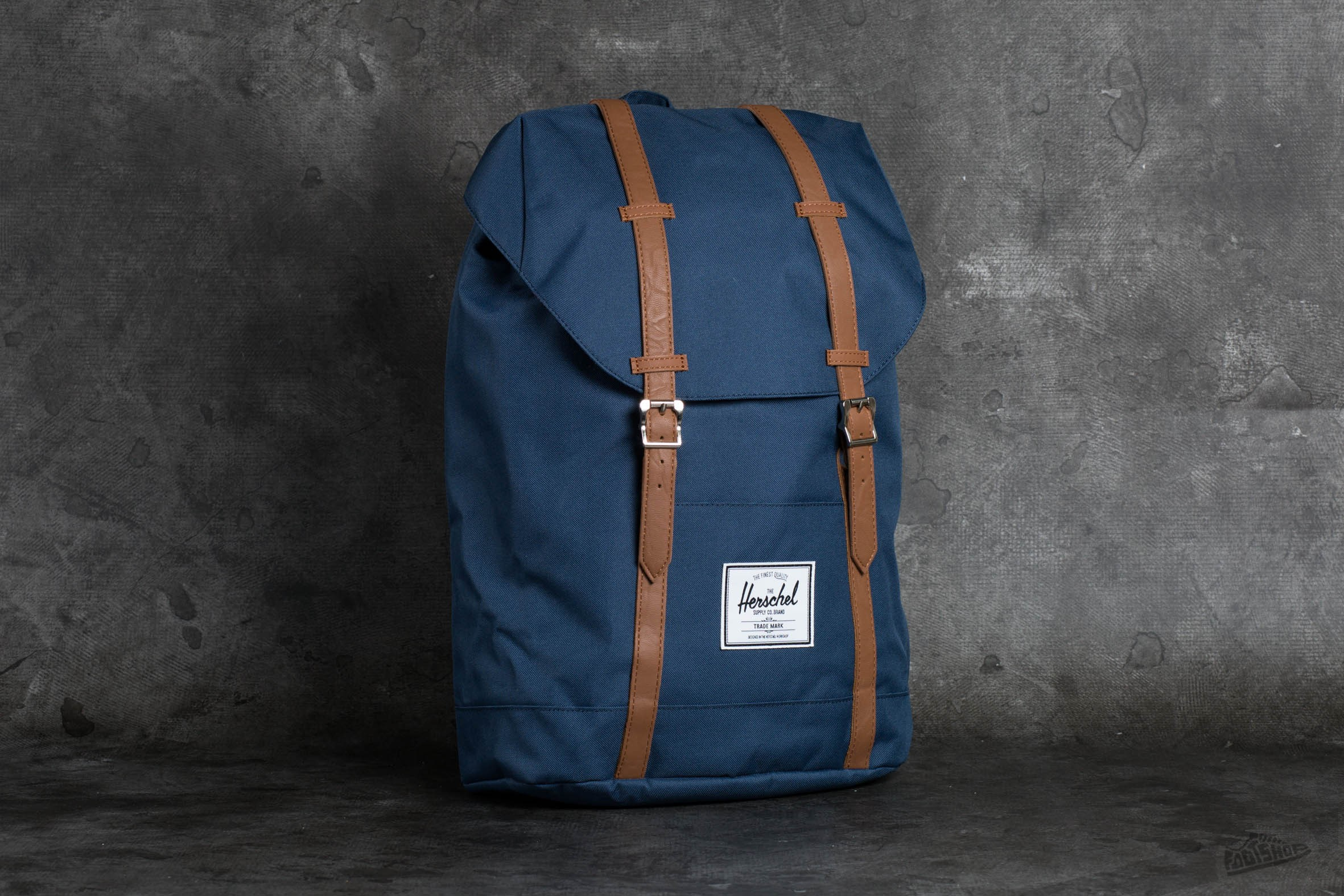 Herschel Supply Co. Retreat Backpack Navy   Footshop e4b34e83f3