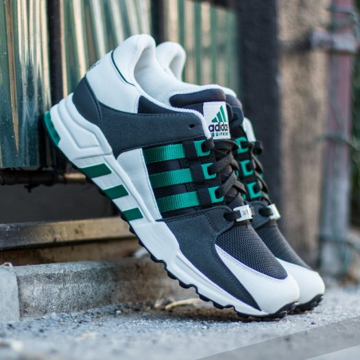 adidas Equipment Running Support Core Black Sub Green White Vapour | Footshop