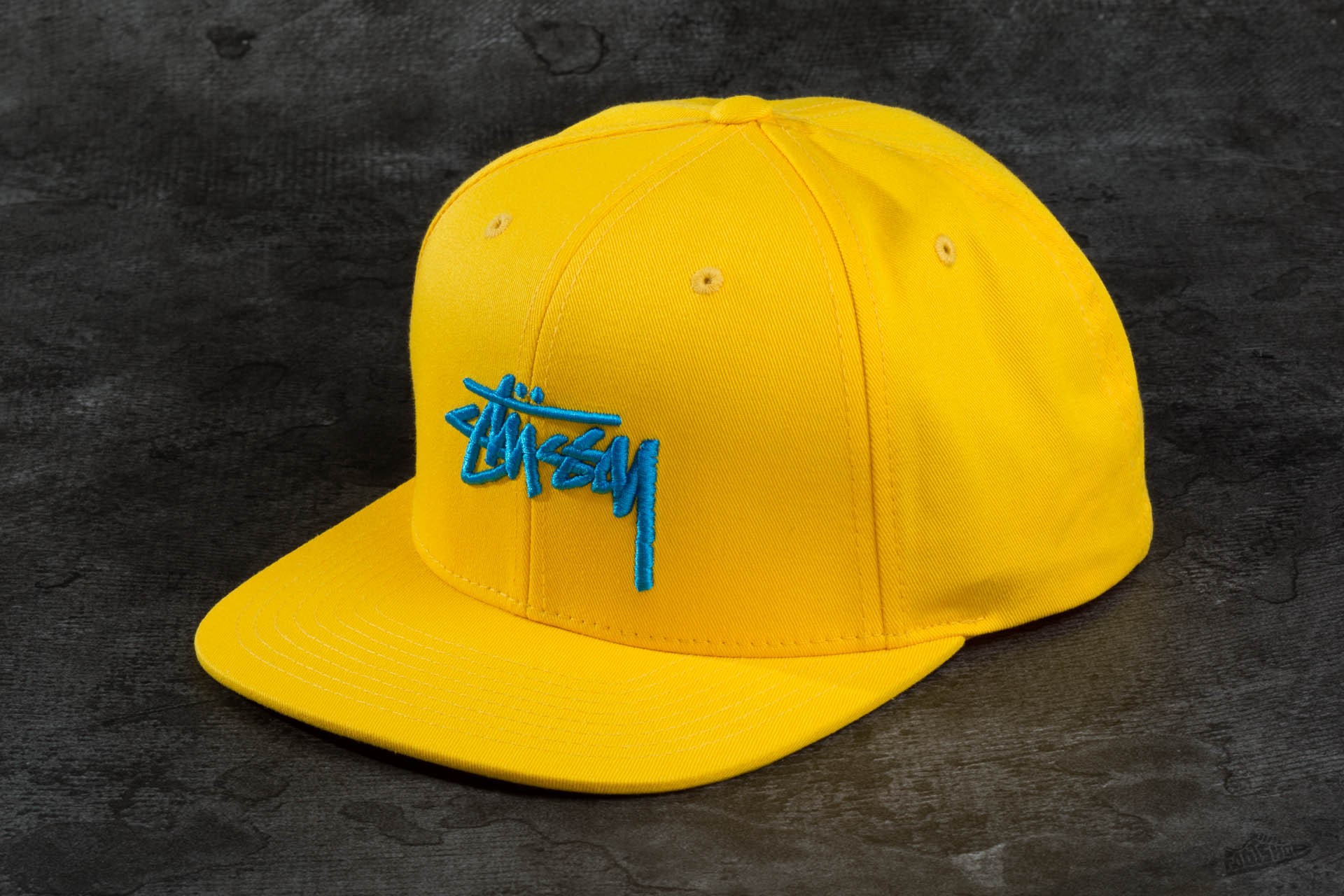 8546a02b12a Stüssy Stock SU16 Cap Yellow