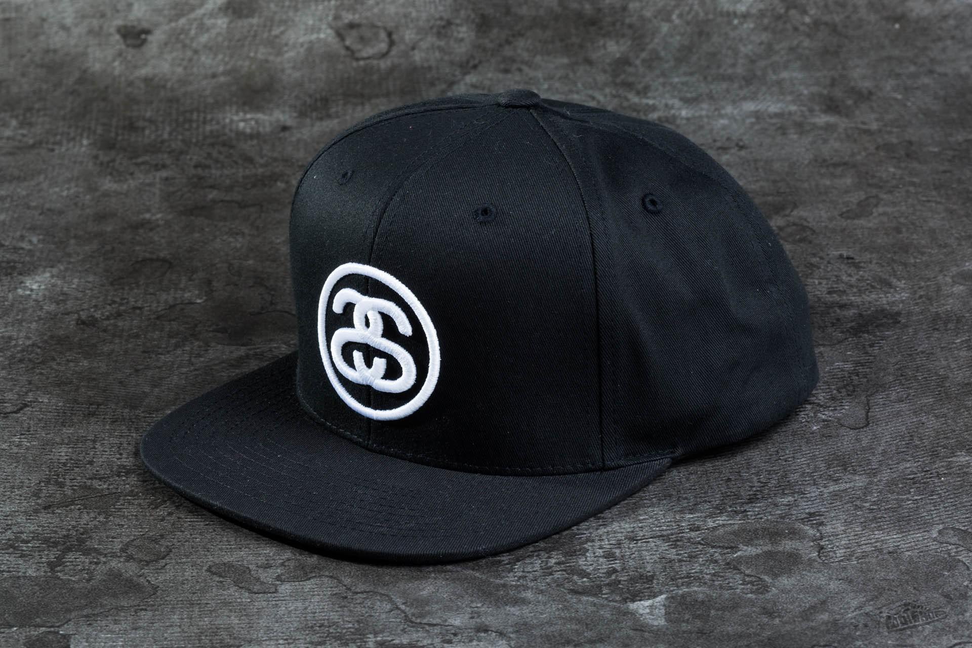 295ff13949a394 Stüssy SS-Link SU16 Cap Black | Footshop