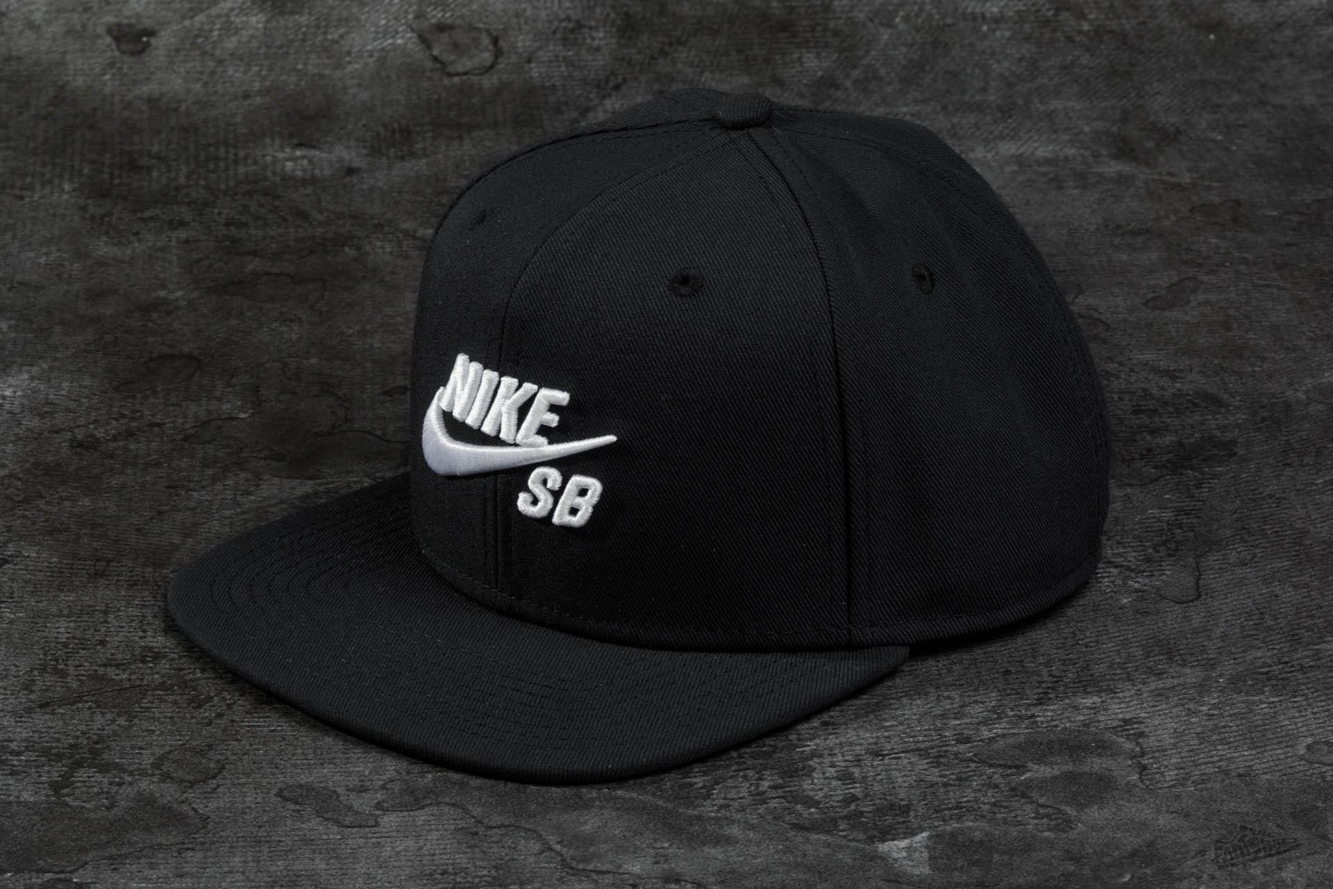 Nike SB Icon Pro Snapback Black  5011f8491e