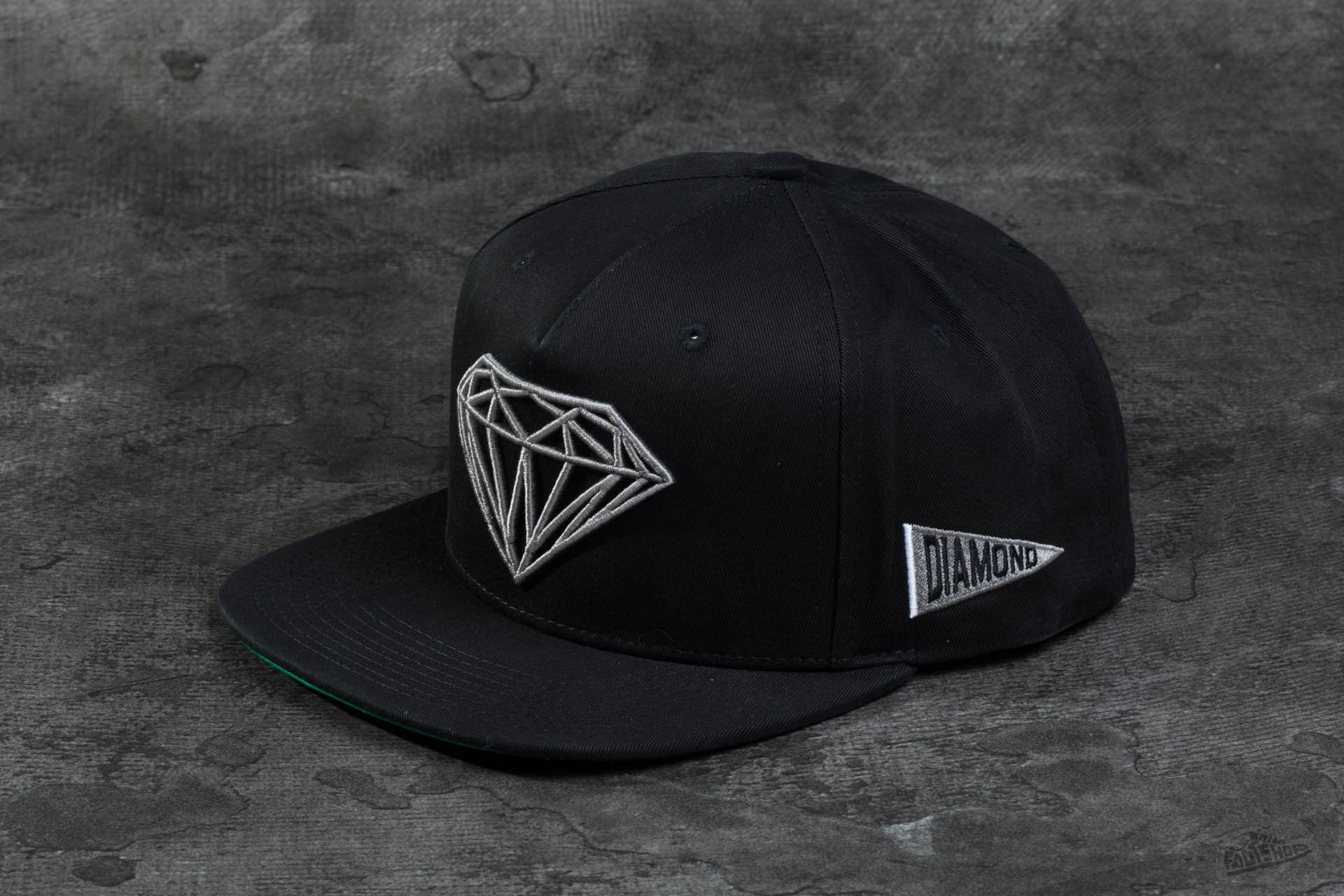 0e6b4e672c01b Diamond Brilliant Snapback Black
