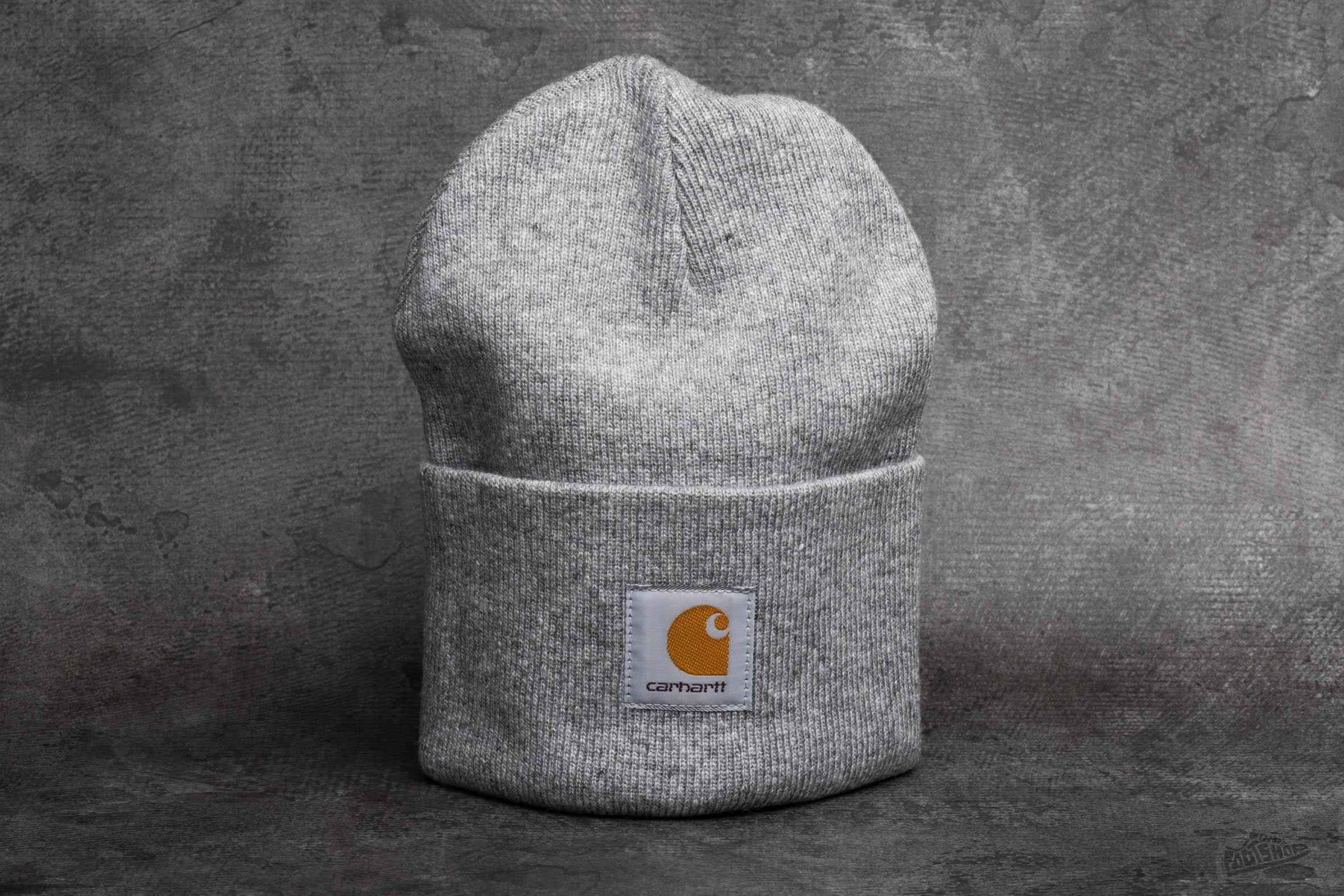817f29ad0 Carhartt WIP Acrylic Watch Hat Grey Heather | Footshop