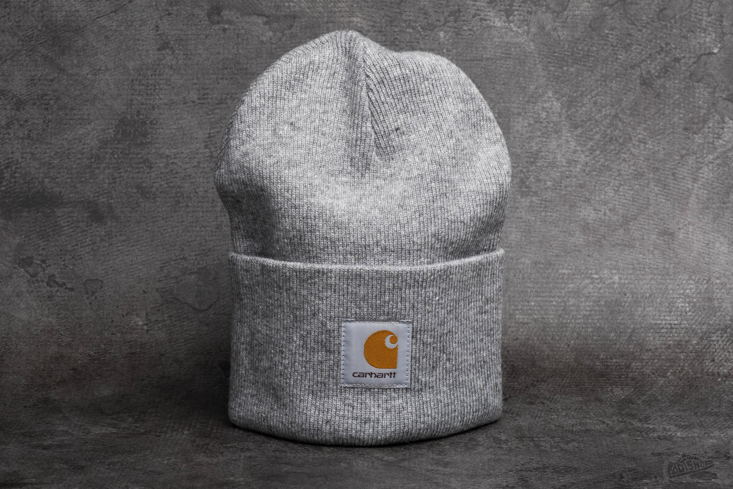 6318aa186f3 Carhartt WIP Acrylic Watch Hat Grey Heather