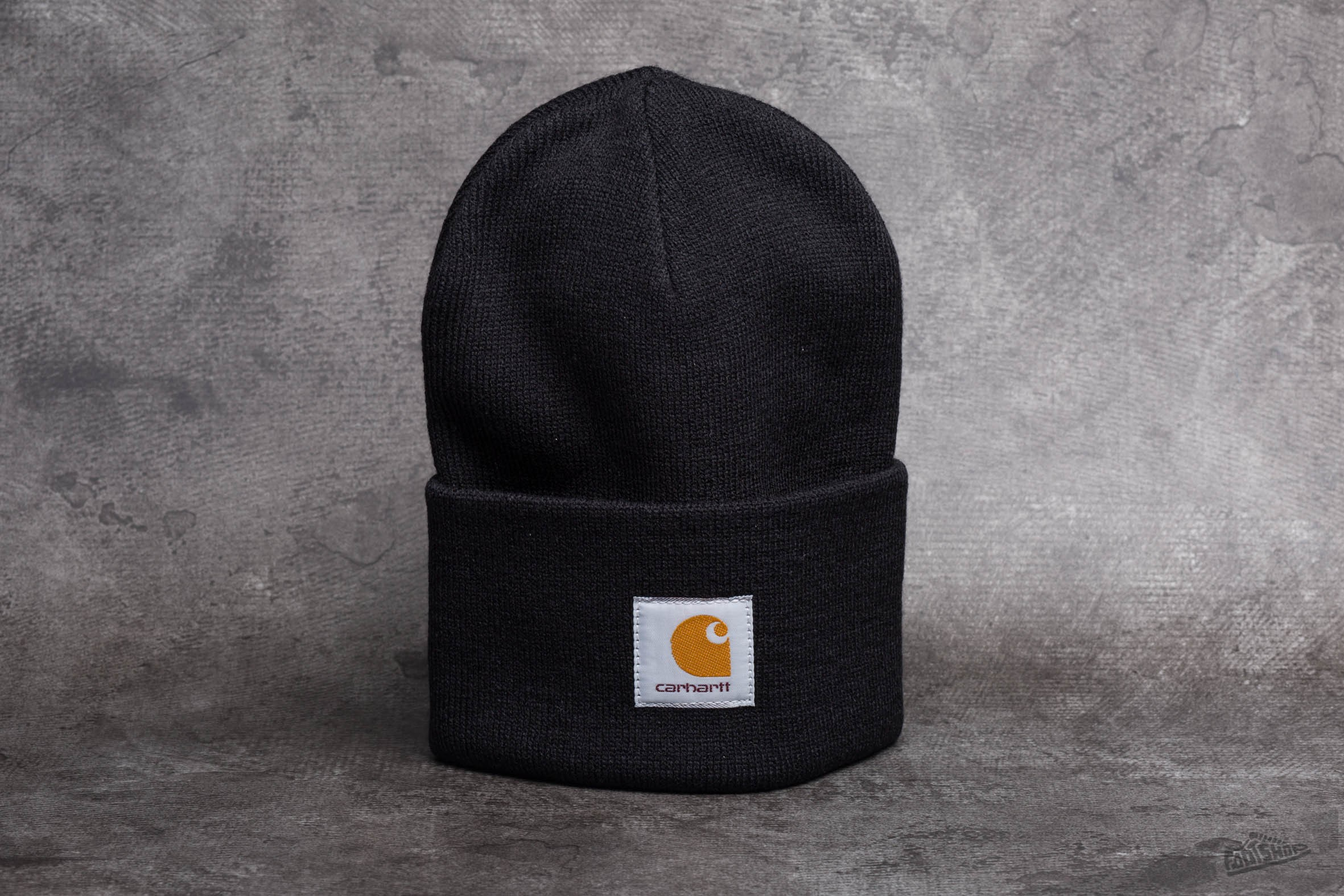 7836b6c67 Carhartt WIP Acrylic Watch Hat Black | Footshop