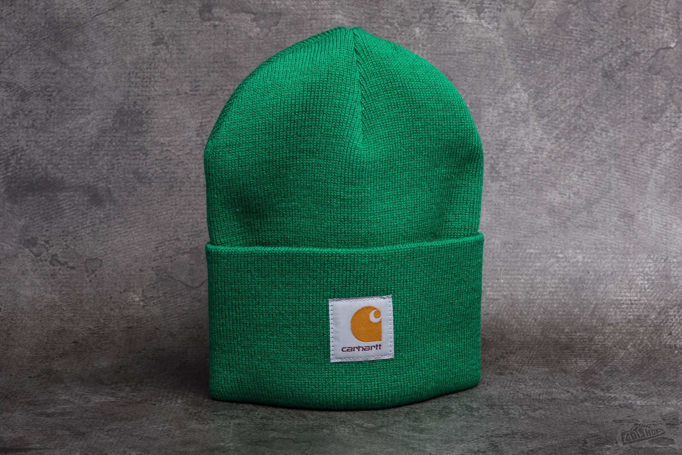 Carhartt WIP Acrylic Watch Hat Green  6a888d3589b
