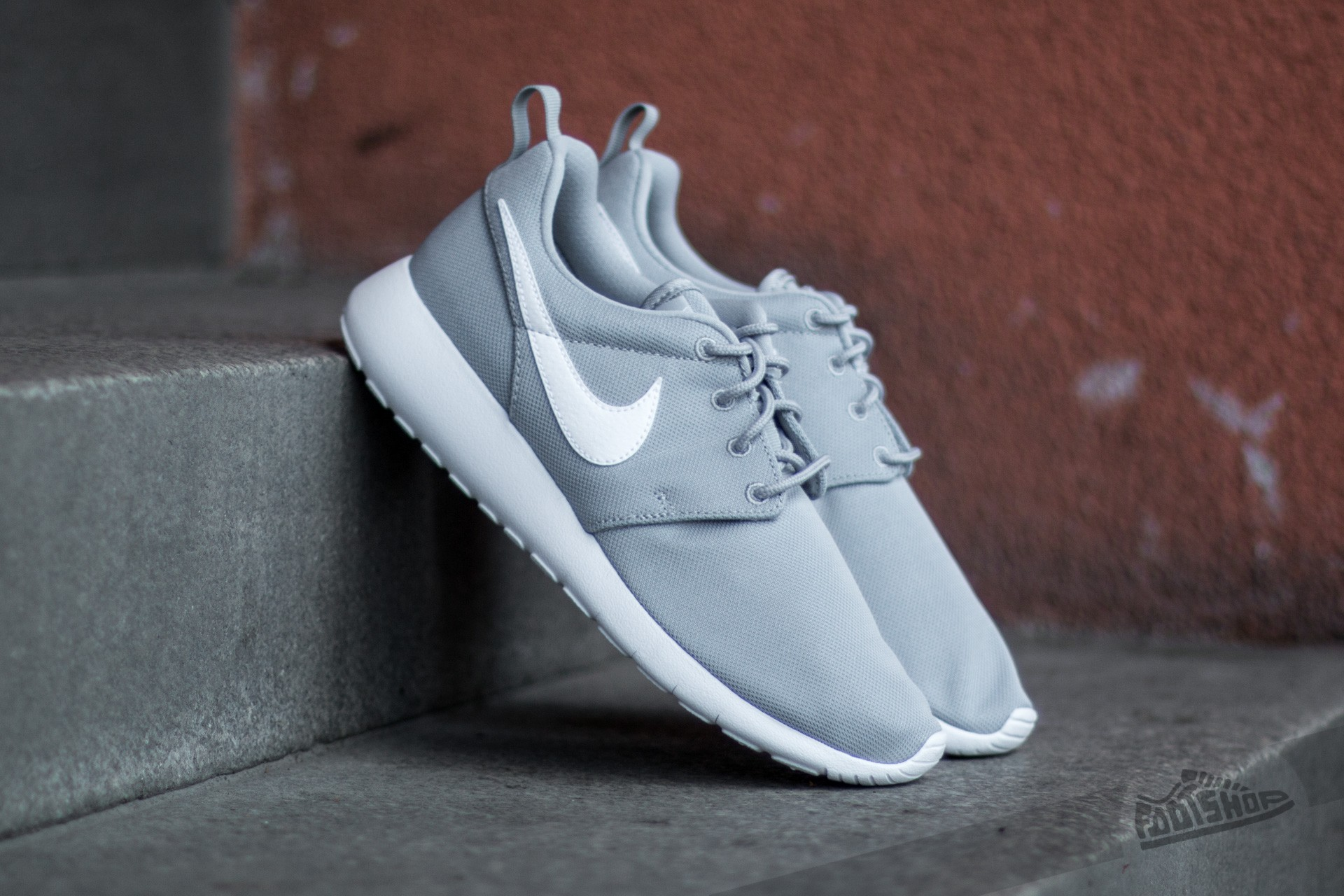 new style 853fa d1345 Nike Roshe One (GS) Wolf Grey/ White | Footshop