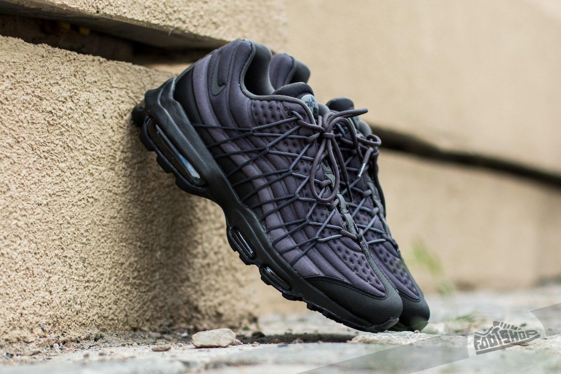 online store 0361e f1fd6 Nike Air Max 95 Ultra Se Black  Dark Grey-Black-Anthracite