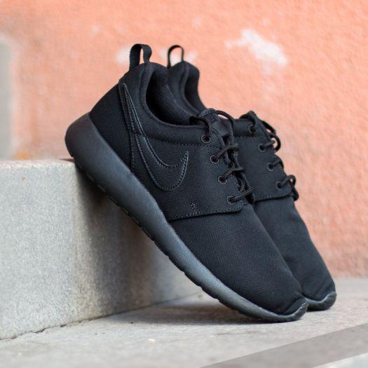 Nike Roshe One (GS) Black Black Black   Footshop