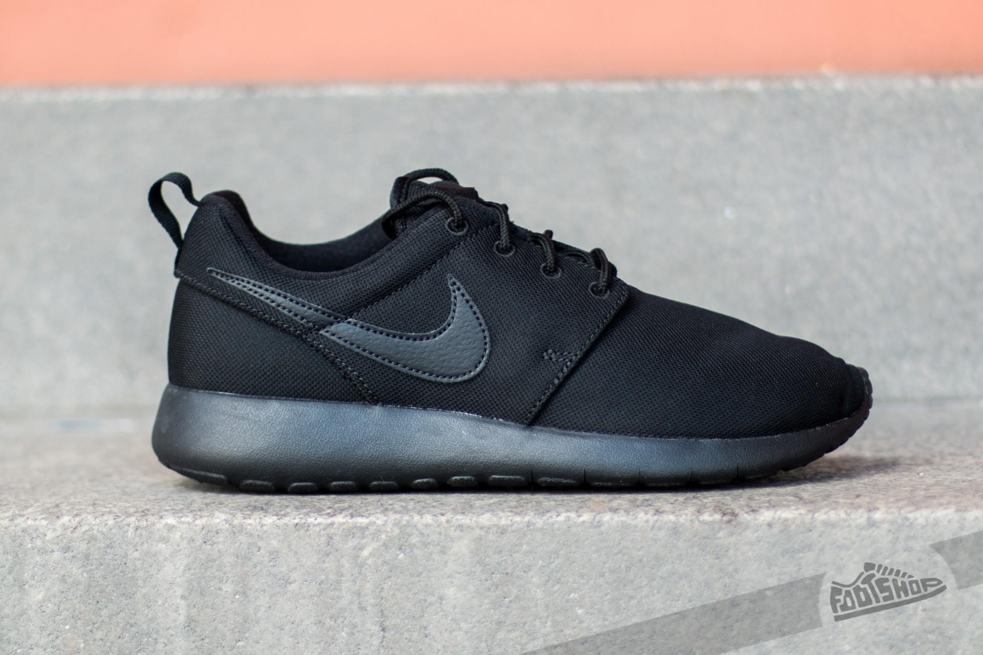 premium selection 8d0c4 795ac Nike Roshe One (GS) Black/ Black-Black | Footshop