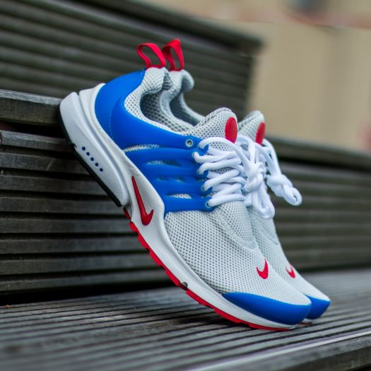 info for temperament shoes clearance sale Nike Air Presto Essential Dusty Grey/ University Red - Hyper Cobalt |  Footshop