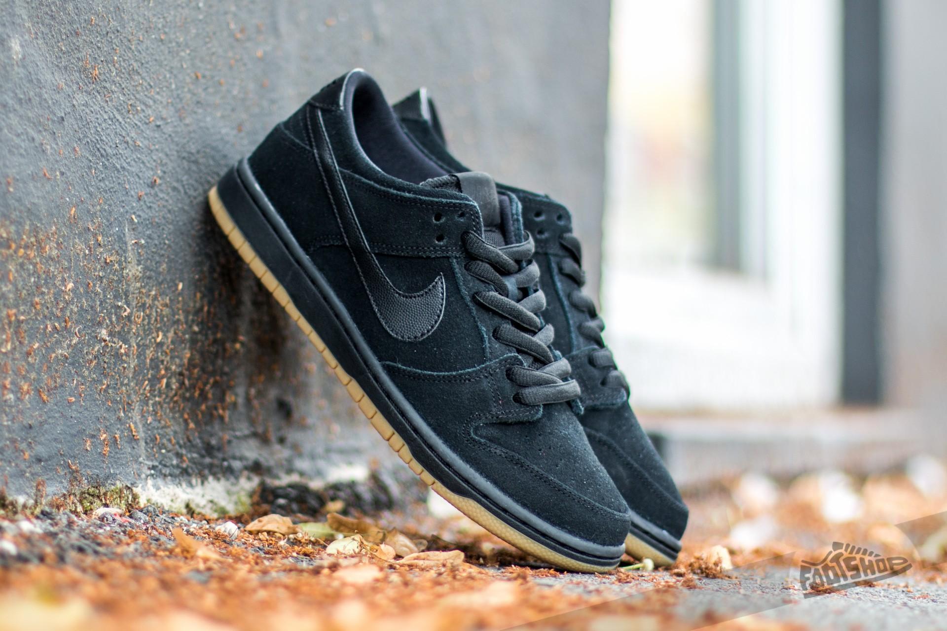 4083b12c44 Nike Dunk Low Pro Iw Black  Black- Gum Light Brown