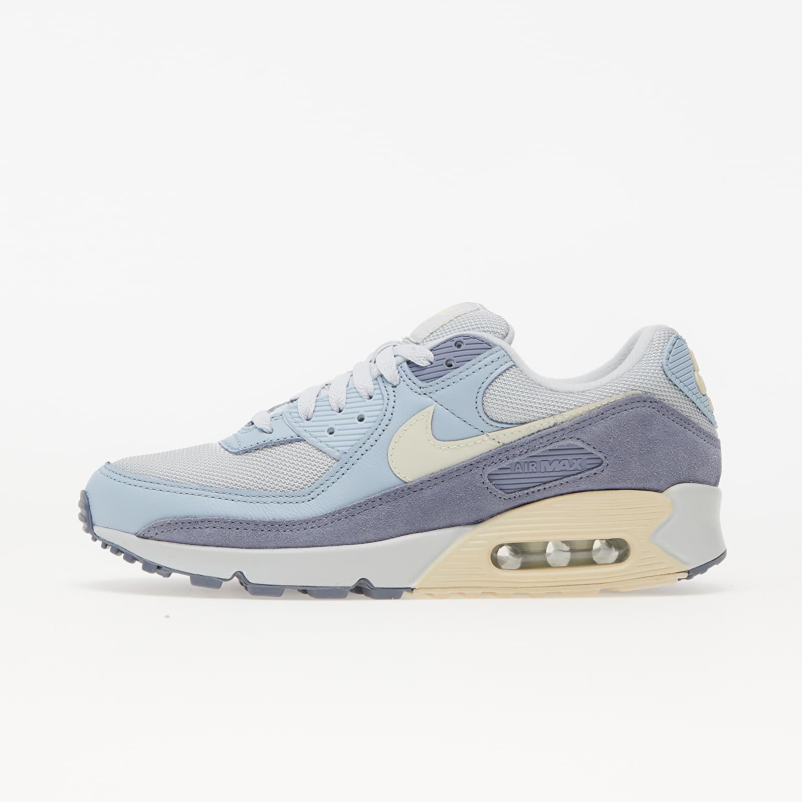 Nike Air Max 90 Premium Pure Platinum/ Beach-Ashen Slate EUR 44